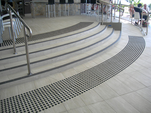 Tactile Stair Landings Urban Access Solutions