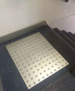 Stainless Steel Tactile Panels